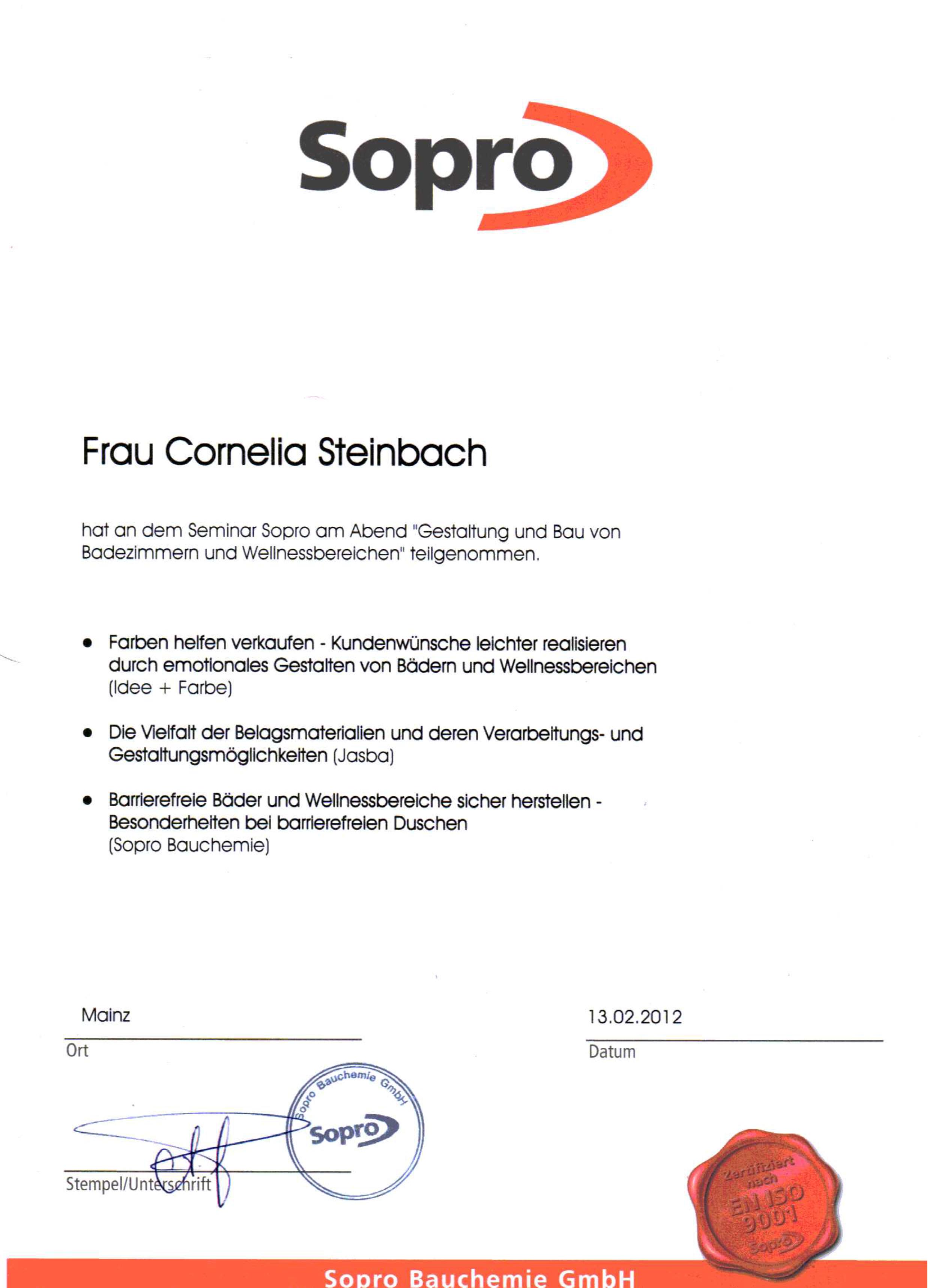1CS - Sopro