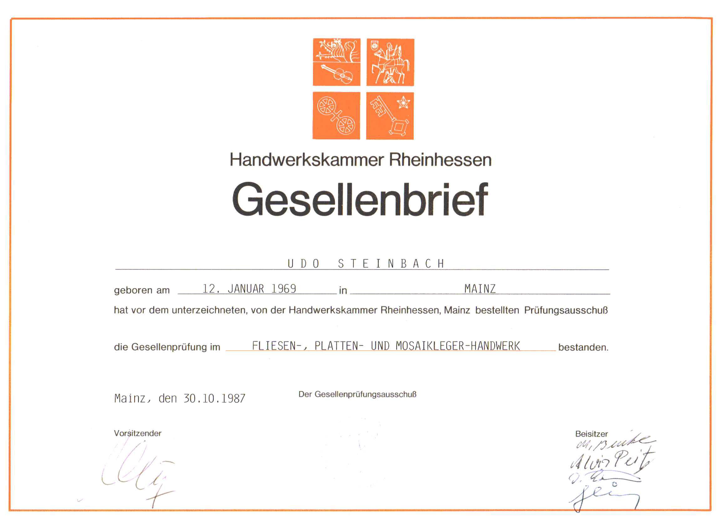 5US-Gesellenbrief